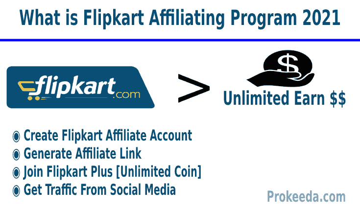 Flipkart Affiliate Marketing 2021. Flipkart Plus Coin, Affiliate Program, Unlimited Coin, Traffic From Social Media, Generate Affiliate Link.