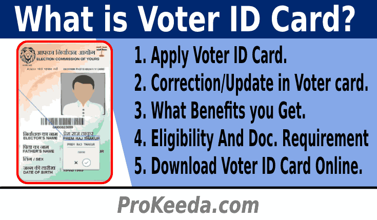 What is Passport? How to Apply Online Voter ID Card, Correction, Update, and Document Requirement.